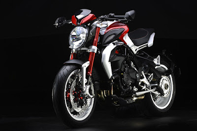 Coming soon 2016 MV Agusta Brutale 800 Hd Photos red & white pose musculer