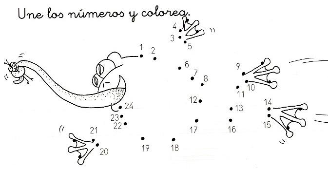 Numeros Para Colorear En Linea Fichas Para Unir Puntos Y: Escuela De Padres Y Madres: FICHAS DE UNIR PUNTOS