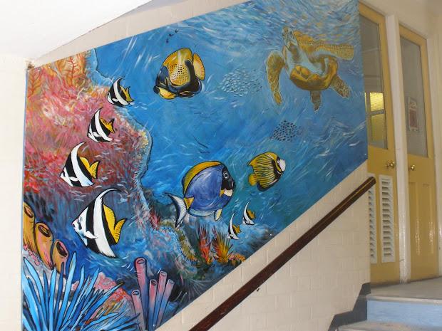 Jenny Leonard Art Southrise Primary School Murals
