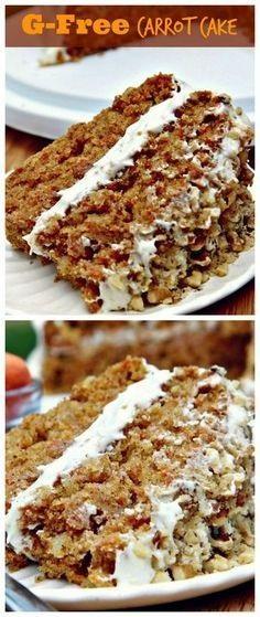 Gluten-Free Carrot Cake (Moist And Fluffy)