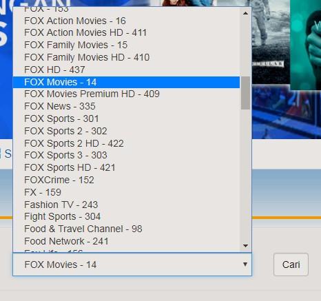 Channel TV Berlangganan