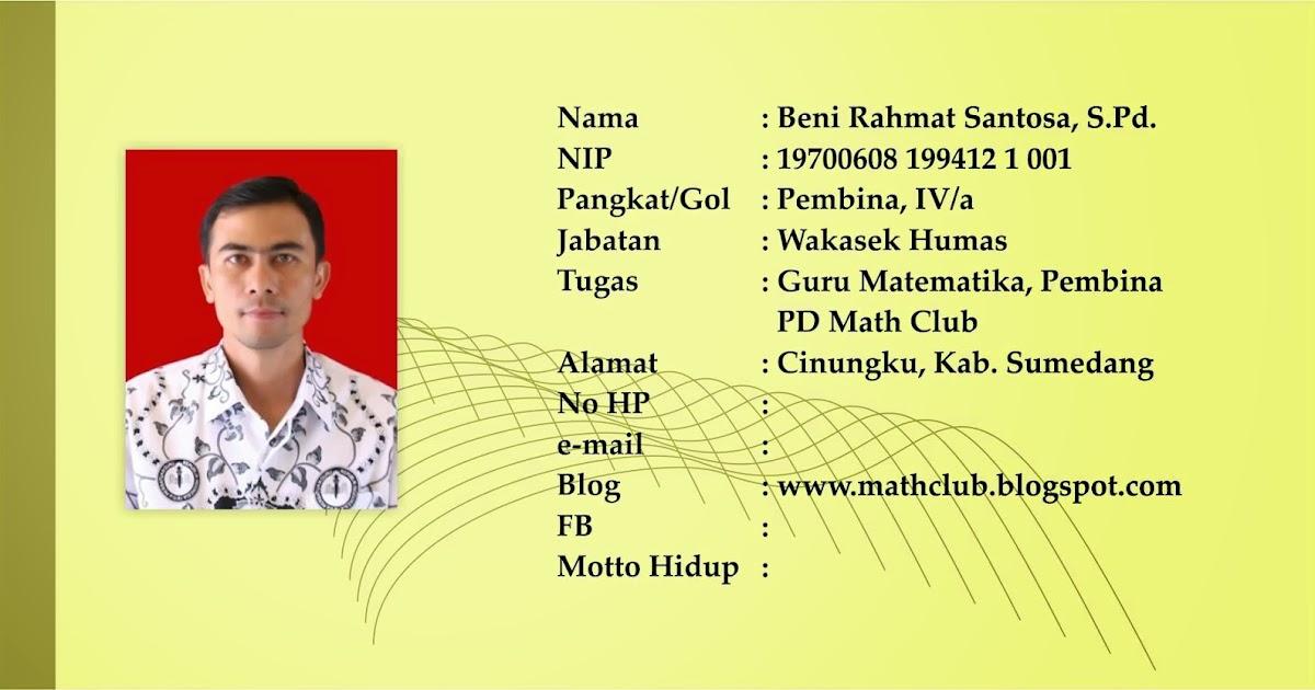 Biodata Guru Dan Staff Tata Usaha Smpn 2 Pamulihan
