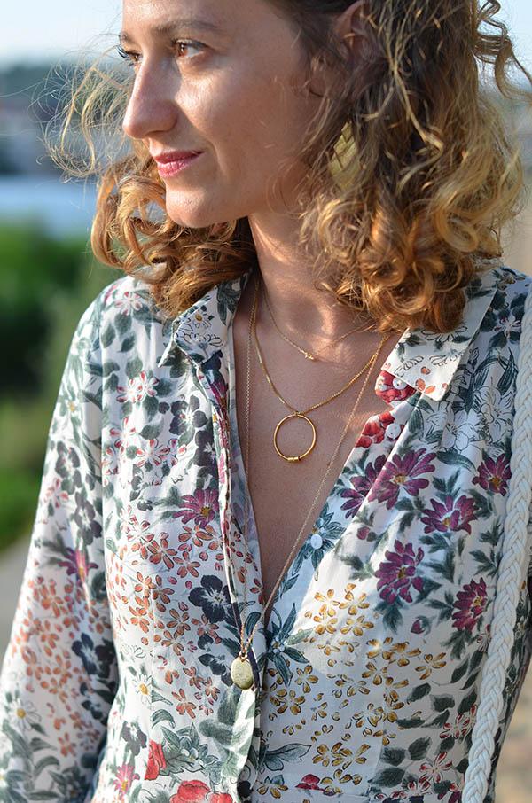 Bijoux collier gemini a