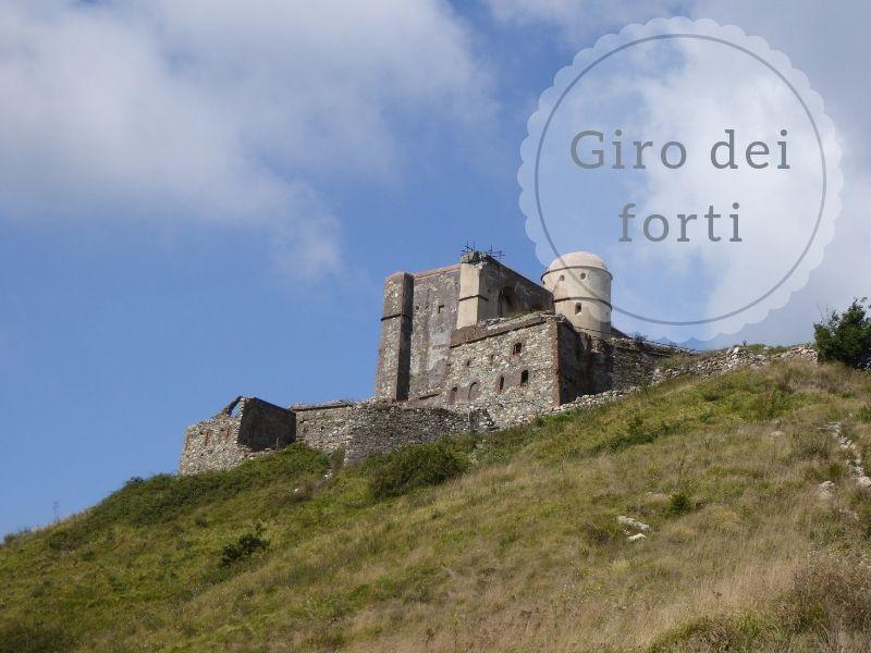 per tutta la famiglia vendita professionale nessuna tassa di vendita Giro dei forti di Genova da Campi a Forte Sperone ...