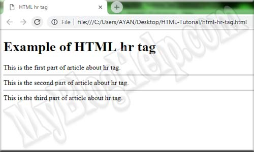 html-hr-tag