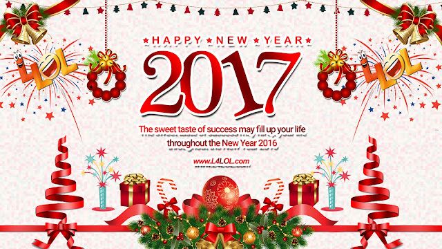 Merry Christmas And 2017 Happy New Year HD Images