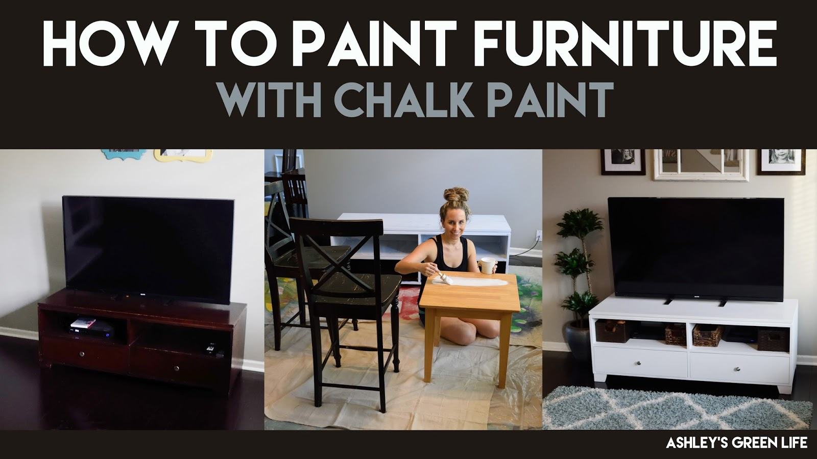 Surprising Ashleys Green Life How To Paint Furniture With Chalk Paint Download Free Architecture Designs Barepgrimeyleaguecom