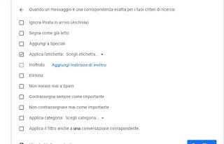Filtro Gmail