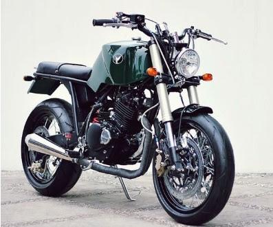 Foto Modifikasi Suzuki Thunder Klasik