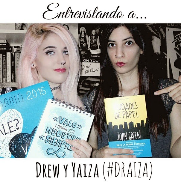 Entrevistando a... Drew y Yaiza (Never Be Hopeless - The Lovely Books)