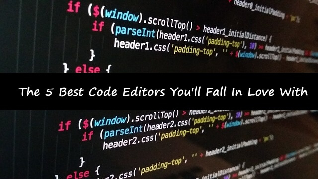 great code editors