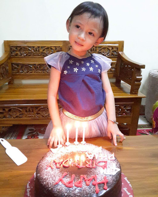 HAPPY 5TH BIRTHDAY DHIA BATRISYA