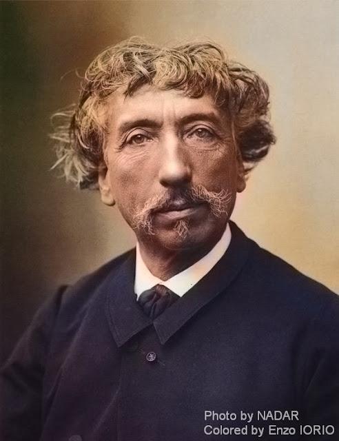 Charles Garnier, l'inedita immagine a colori