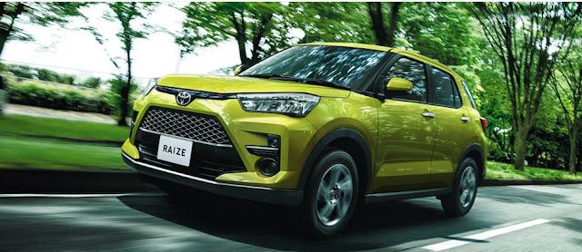 Spesifikasi Toyota Raize ,SUV Kompak Toyota 2020