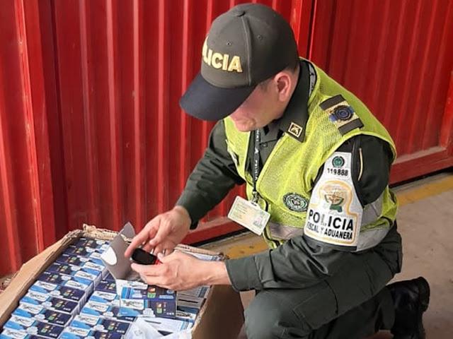 $12 millones en celulares de contrabando aprehendidos en las goteras de Valledupar