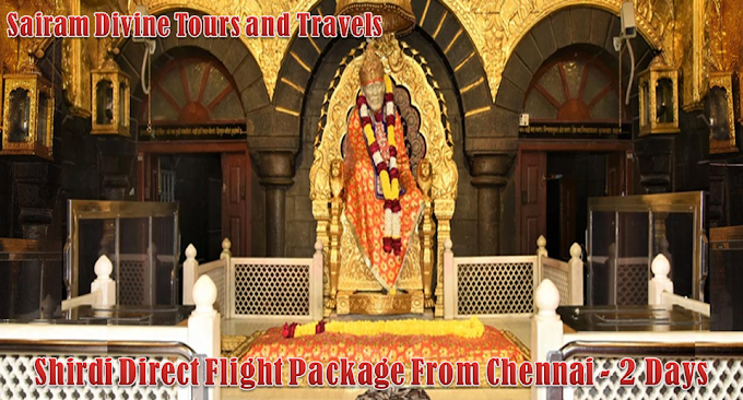 Chennai To Shirdi Direct Flight Package - 2 Days