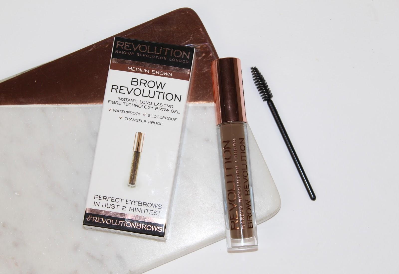 Makeup Revolution Brow Revolution Review and Photos - Wunderbrow Dupe
