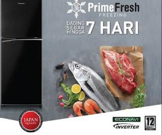 kulkas Panasonic Prime Fresh