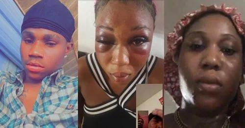 DOMESTIC VIOLENCE: Lady cries for help after being beaten constantly by her boyfriend for nine years (Video/Photos)