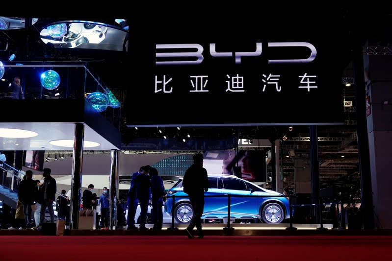 BYD launches open source EV product platform
