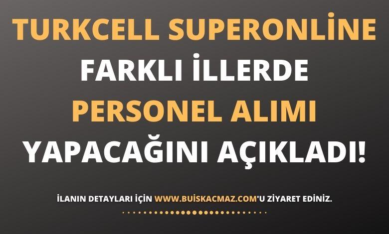 Turkcell Superonline Personel Alımı