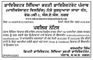 Punjab Education Recruitment Board Master Cadre Science Teachers Jobs.jpgPunjab Education Recruitment Board Master Cadre Science Teachers Jobs.jpg