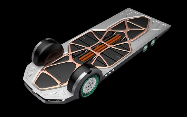 El futuro de los vehículos comerciales eléctricos: plataforma propulsora y módulo de servicio independientes