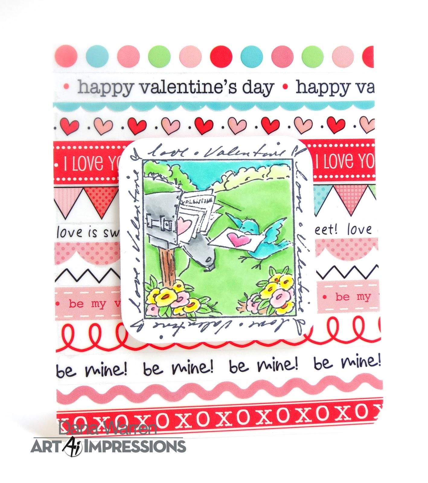 Art Impressions Blog: Happy Valentine\'s Day by Dana Warren