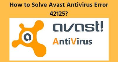 Avast Error 42125