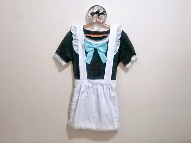 DIY Maid Costume Tutorial