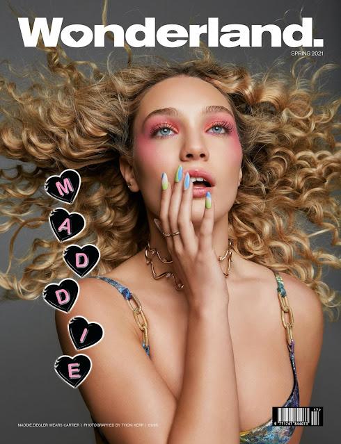 Maddie Ziegler – Wonderland magazine (Spring 2021)