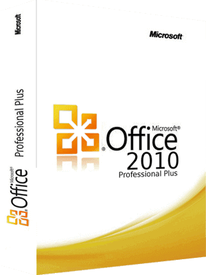 Microsoft Office Professional Plus 2010 box