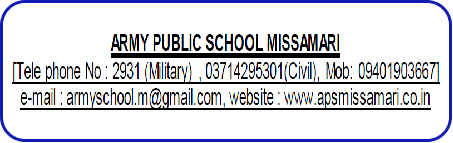 TGT & PRT Teacher Recruitment 2021 in APS Missamari Assam