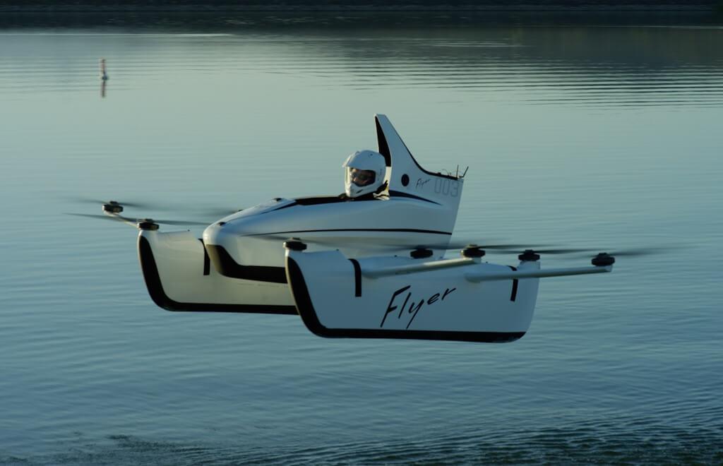 Prototaip Kereta Terbang Paling