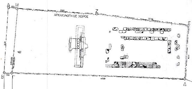 Ο αρχαίος ναός στη Ρόδα - Κέρκυρα