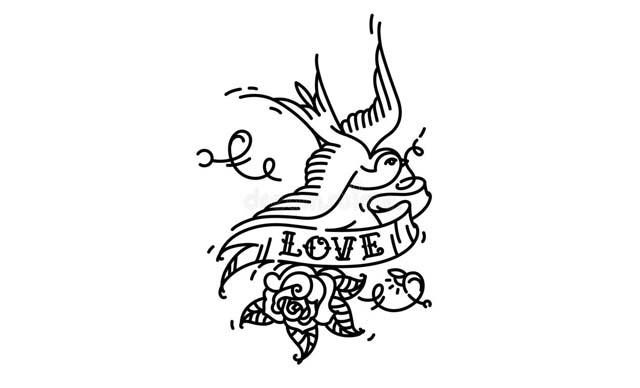 dibujos faciles tatuajes para copiar