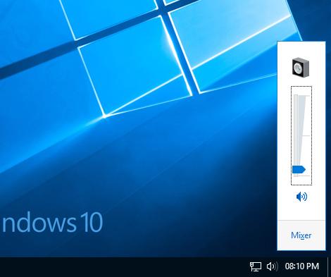 Shortcut for volume control in windows - Manu Thrissur