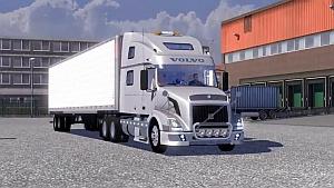 Volvo VNL + American trailer