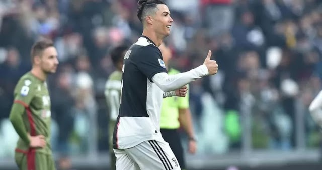 Ronaldo scores 36th league hat-trick of career to put himself 2 ahead of Messi