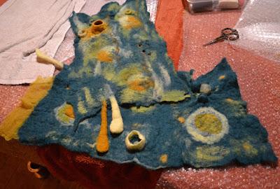 cours et stage laine feutrée chez factory Cathy Paris 75011