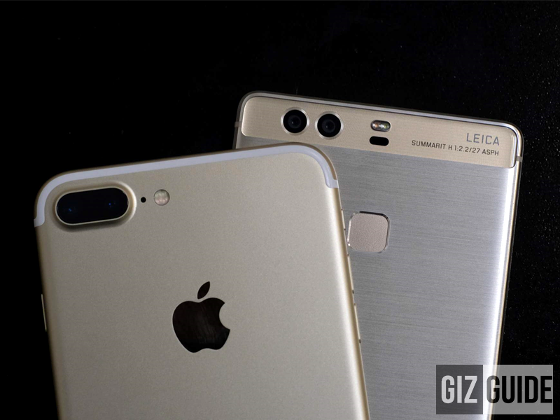 Apple iPhone 7 Plus Vs Huawei P9 Plus, Dual Camera Battle!