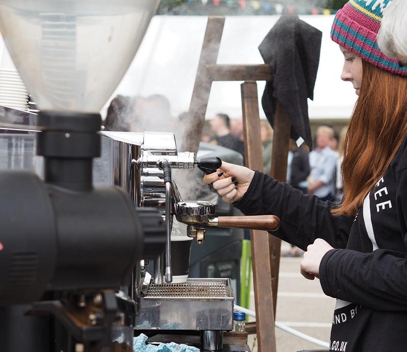 Ovenbird Coffee stand