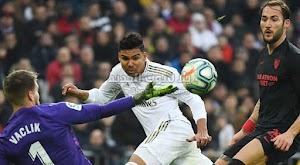 ريال مدريد يعتلي صداة الدوري الاسباني مؤقتا بعد الفوز على اشبيلية