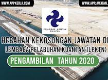 Jawatan Kosong di Lembaga Pelabuhan Kuantan (LPKtn)