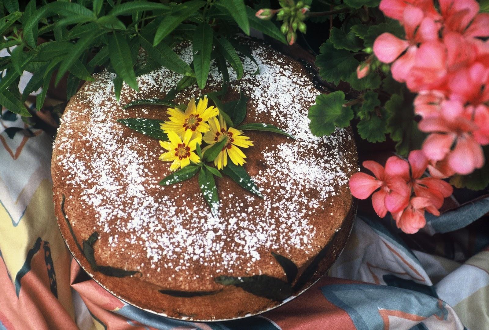 Lemon Verbena Bundt Cake