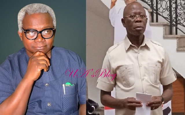 VON DG, Okechukwu attacks Oshimohole, insists APC national chairman must resign over party's defeat in Rivers, Zamfara others