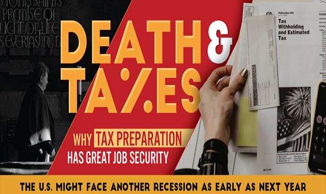 Death & Taxes: Why is Tax Preparation Secure #infographic