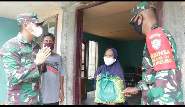 Dandim Aceh Barat : Kebahagiaan Kaum Dhuafa Adalah Kebahagiaan Kita Bersama