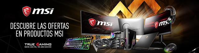 Mejores ofertas Semana de MSI, productos gaming de Amazon