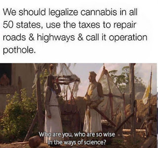 Development, Cannabis Meme